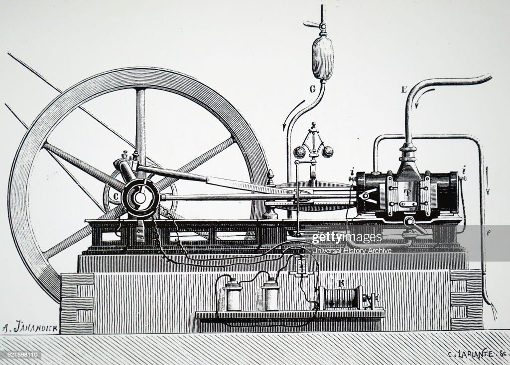 The original 'Lenoir' gas engine. : News Photo