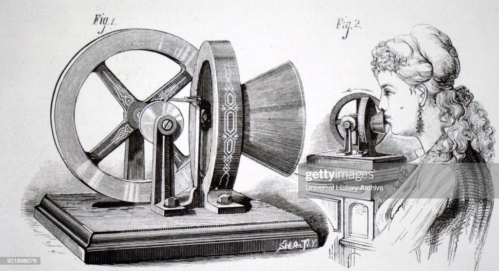Thomas Edison's phonometer. : News Photo
