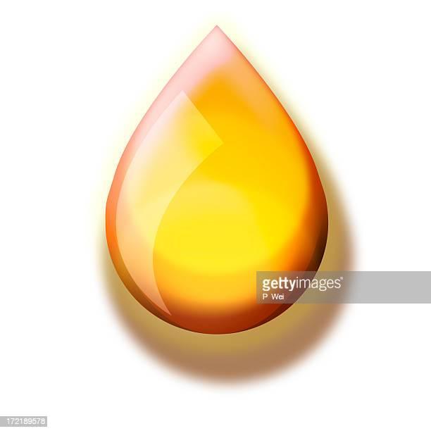 イラスト: ドロップの石油