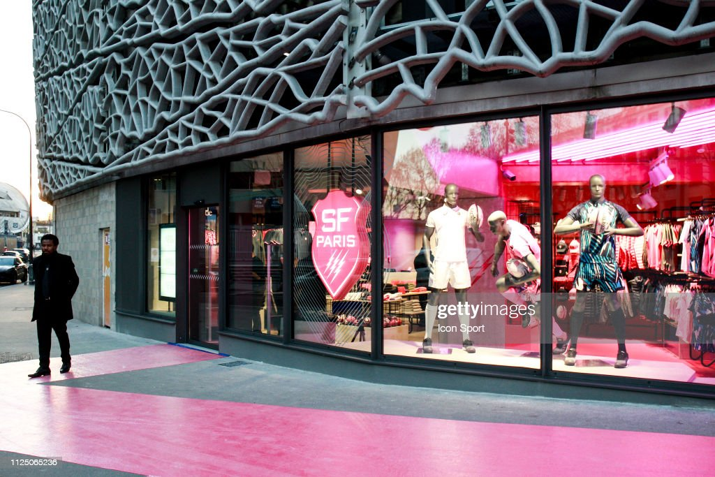 FRA: Stade Francais - Inauguration of the official store