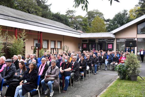 FRA: Inauguration of the training center - Stade Francais