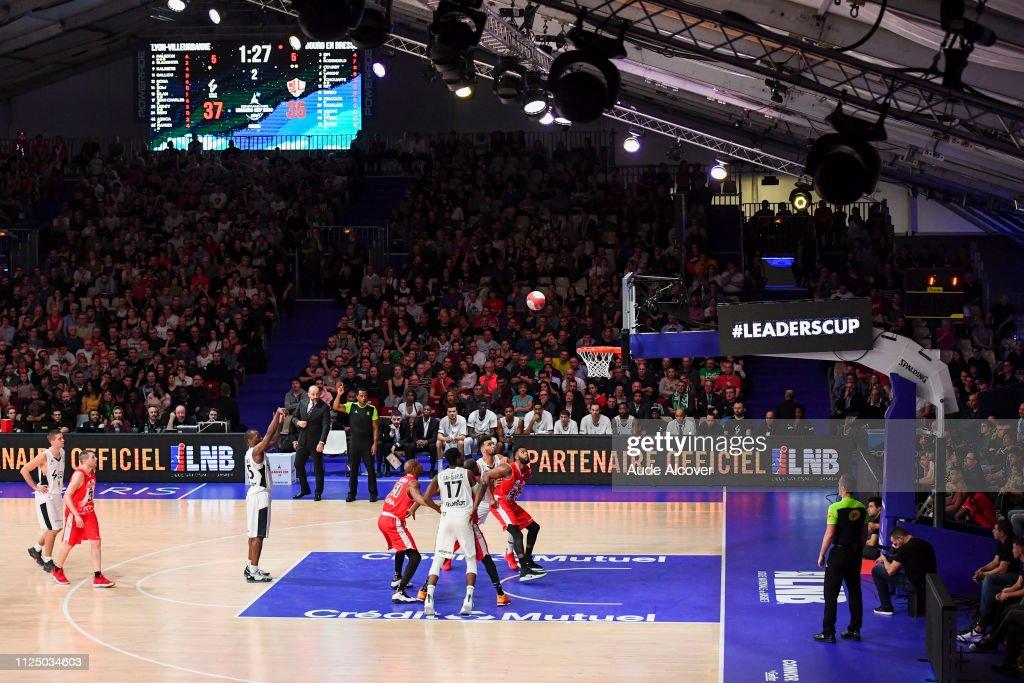FRA: LDLC ASVEL - JL Bourg Basket - Leaders Cup 2019