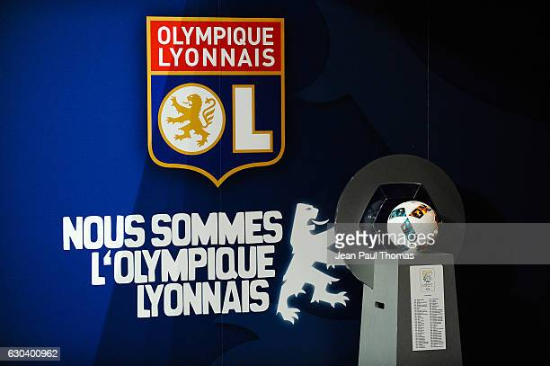 Illustration during the Ligue 1 match between Olympique Lyonnais and SCO Angers at Stade de Gerland on December 21 2016 in Lyon France