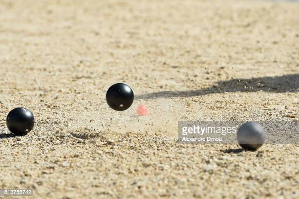 Illustration during the Masters of Petanque 2017 on July 13 2017 in RomanssurIsere France