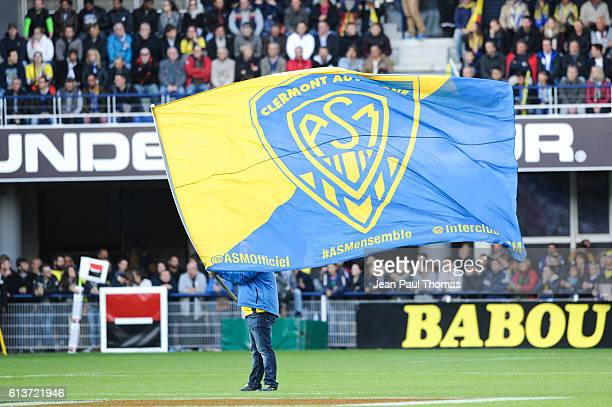 Illustration during the Top 14 rugby match between Clermont Auvergne and Stade Toulousain Toulouse on October 9 2016 in Clermont France