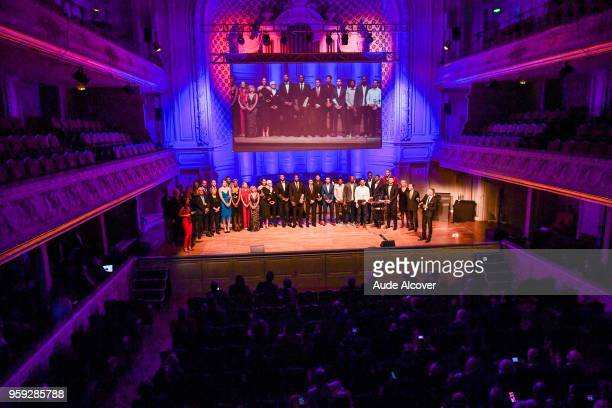 Illustration during the Trophy Award LNB Basketball at Salle Gaveau on May 16 2018 in Paris France