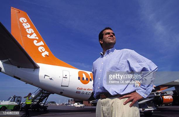 Illustration Easy Jet Airlines In United Kingdom In June 1996 Stelios HajiIoannou