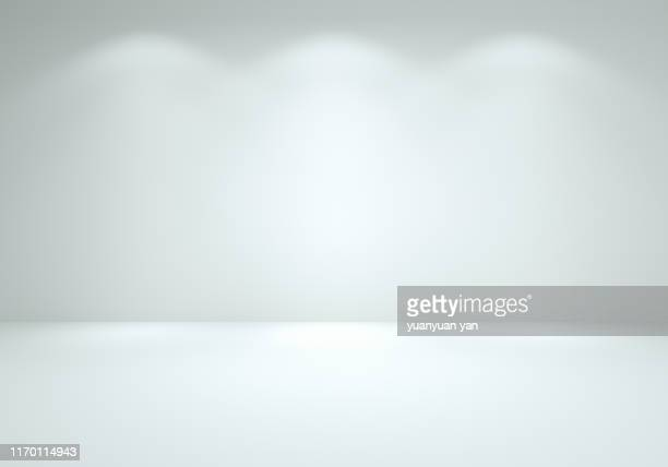 3d illustration empty background - white stock pictures, royalty-free photos & images