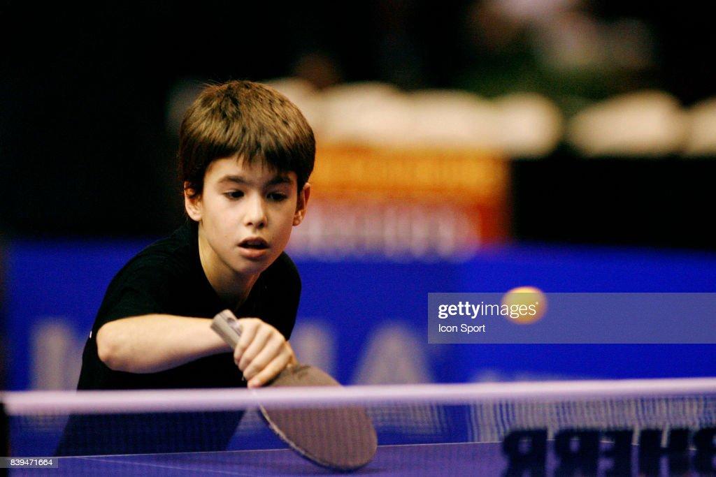 Illustration Enfant Coupe Du Monde Tennis De Table Paris
