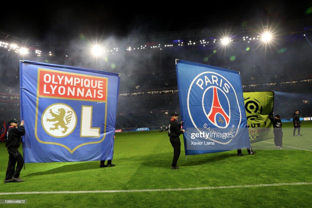 Olympique Lyon v Paris Saint-Germain - Ligue 1 : ニュース写真