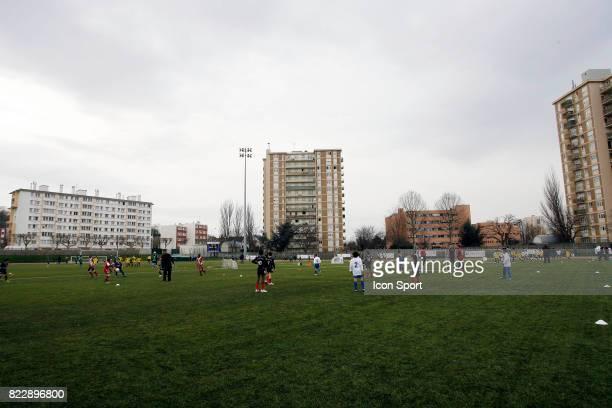 Illustration Football en Seine Saint Denis Festi Foot 11ans Stade Allende de Noisy Le Sec Seine Saint Denis