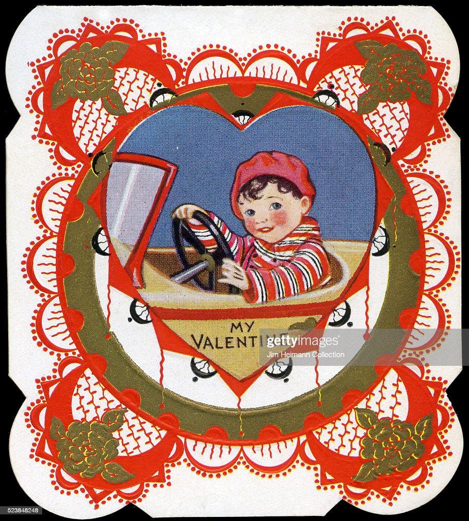 Valentine's Day card. : News Photo