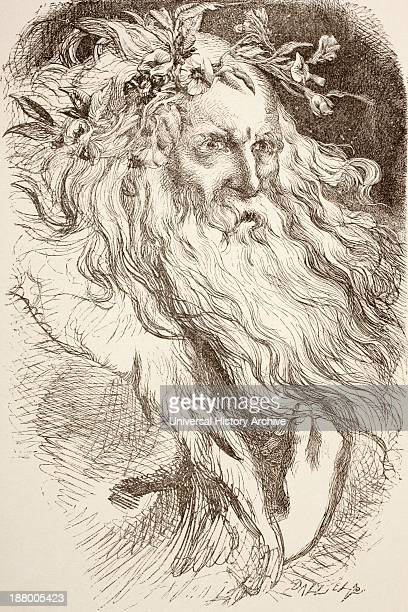 Illustration For King Lear By William Shakespeare From The Illustrated Library Shakspeare Published London 1890