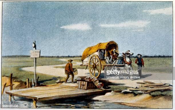 Illustration for 'Le Tresor d'Arlatan' 1897 Edition of the novel by Daudet Illustrations by H T LAURENTDESROUSSEAUX Alphonse Daudet was a French...