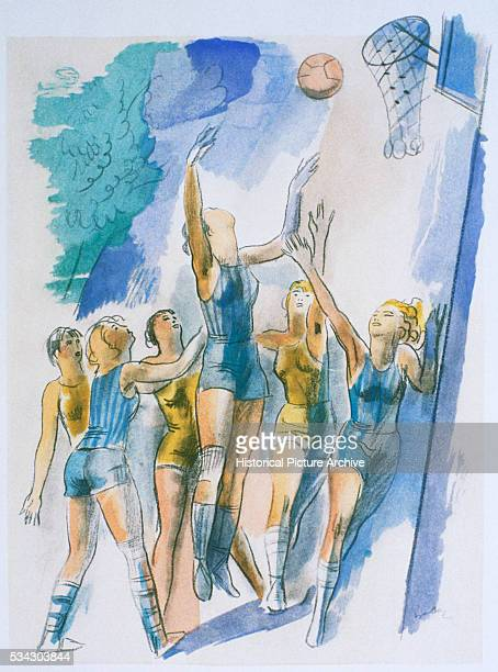 'Illustration for ''Les Joies du Sport'' '