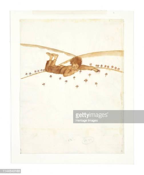 Illustration for novella The Little Prince 1942 Private Collection Artist SaintExupéry Antoine de