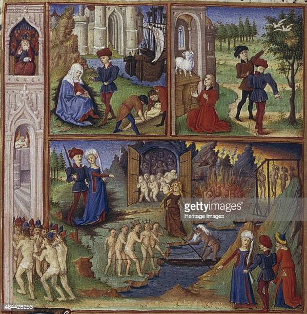 Illustration for the Epic The Aeneid by Virgil 14501499 Found in the collection of the The Huntington California