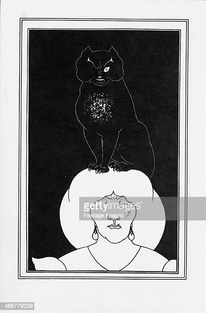 Illustration for the story The black cat by Edgar Allan Poe 18941895 Artist Beardsley Aubrey