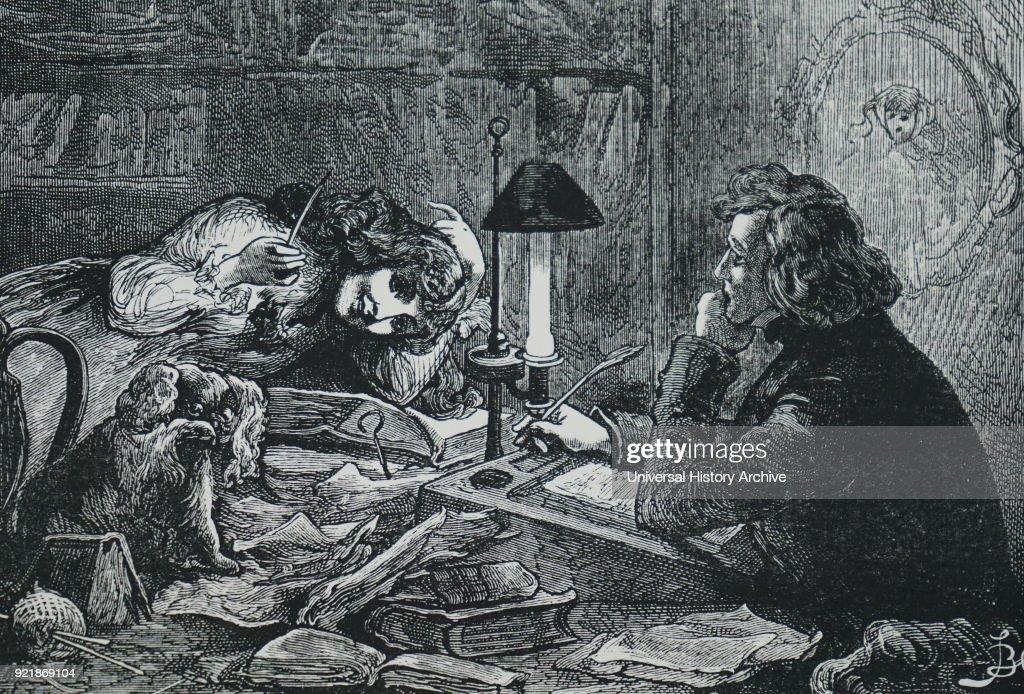 Charles Dickens' novel 'David Copperfield'. : News Photo