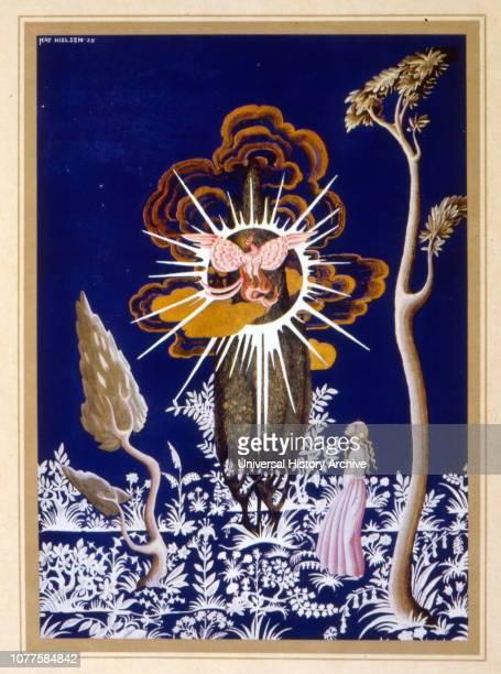 Illustration from 'Fleur de Neige ' by Jacob and Wilhelm Grimm Illustration by Kay Nielsen 1925