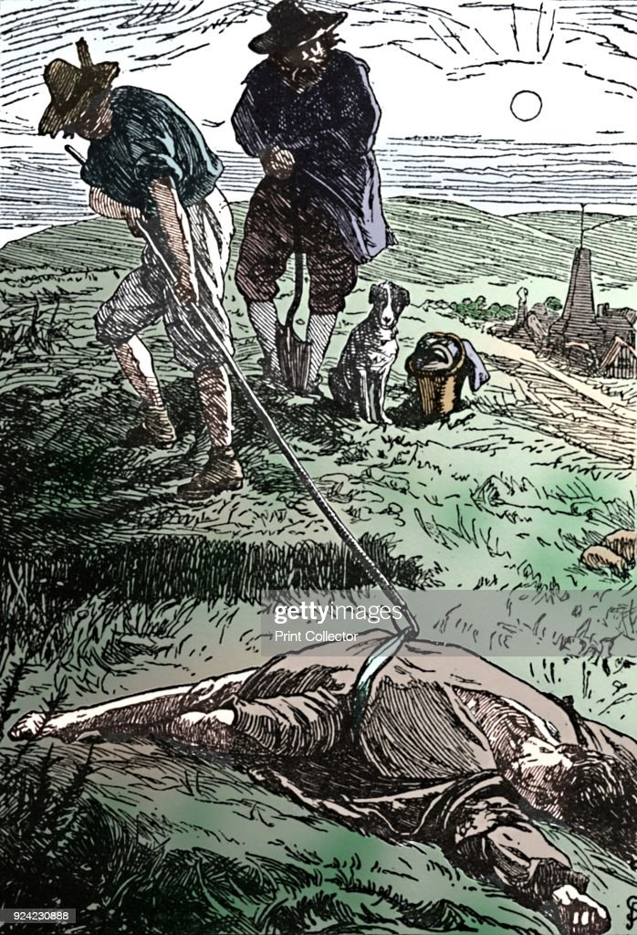 Illustration From History Of The Plague Defoe 18 : News Photo