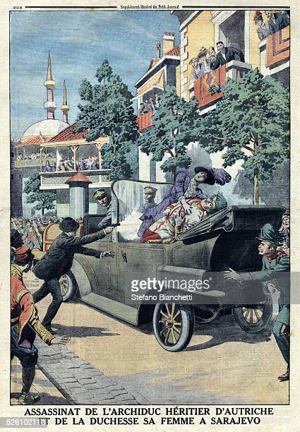 Illustration from Le Petit Journal July 12 1914