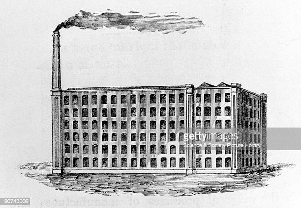 Illustration from volume two of 'Treatise on Mills and Millwork' by William Fairbairn The second volume deals with machinery of transmission and the...