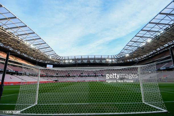 Illustration General View Allianz Riviera Stadium during the Ligue 1 match between Nice and Toulouse at Allianz Riviera Stadium on March 15 2019 in...