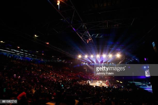 Illustration General View during the boxing event La Conquete at Zenith de Paris on October 14 2017 in Paris France