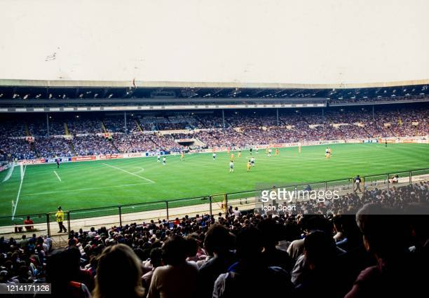 Illustration General View during the Champions League Final match between Barcelona and Sampdoria at Wembley Stadium London England on 20th May 1992