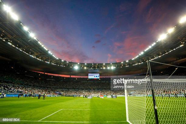 Illustration General View of Stade de France during the National Cup Final match between Angers SCO and Paris Saint Germain PSG at Stade de France on...