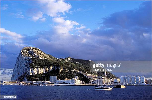 Illustration in Gibraltar Gibraltar in 1999 Gibraltar is known for its legendary limestone rock which towers 426 meters above the Strait It is with...