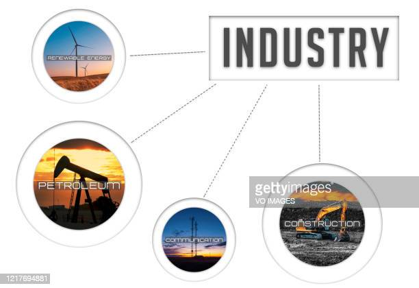 3d illustration industrial background - hydrocarbon stock pictures, royalty-free photos & images