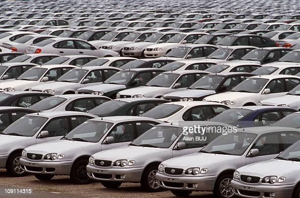 Illustration Japanese Cars Storage Center On April 03Rd 2000
