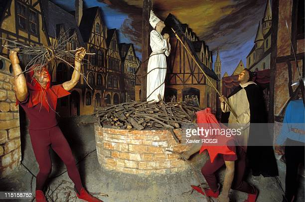 Illustration Jeanne d'Arc in France in September 1999 May 30 1431 at the stake