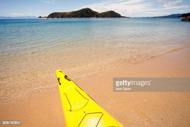 Illustration Kayak Parc National Abel Tasman Nouvelle Zelande