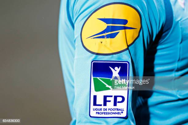 Illustration LFP Ligue de Football Professionnel during the Ligue 1 match between As Nancy Lorraine and Montpellier Herault at Stade Marcel Picot on...