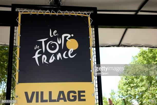 Illustration Logo Tour de France 2009 Etape Contre la montre par equipe Montpellier / Montpellier