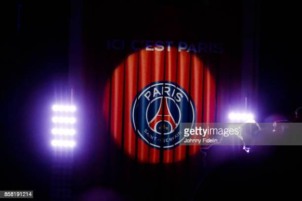 Illustration Logo during the Lidl Starligue match between Paris Saint Germain and Saint Raphael on October 5 2017 in Paris France