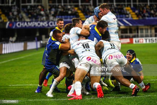 Illustration Maul during the Quarter-Final Champions Cup match between Clermont and Racing92 at Stade Marcel Michelin on September 19, 2020 in...