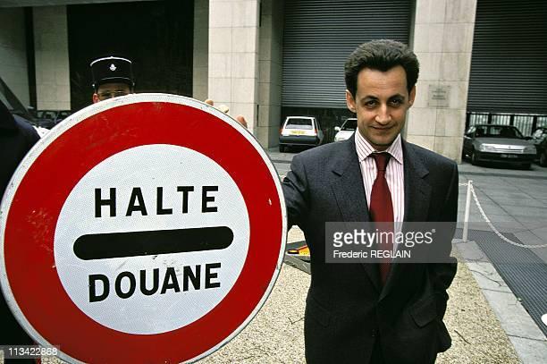 Illustration N Sarkozy Customs On February 14Th 1994