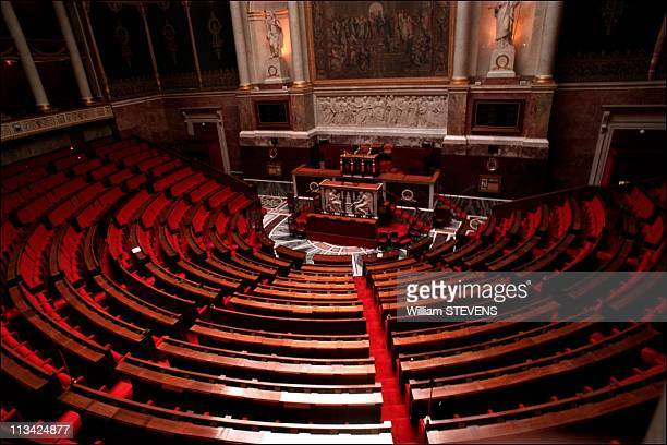 Illustration National Assembly 22nd On April 1997 In ParisFrance