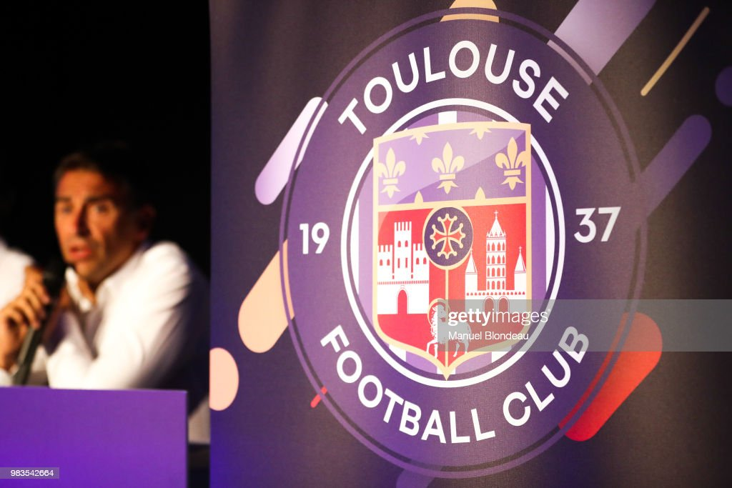 Press Conference New Logo Toulouse FC