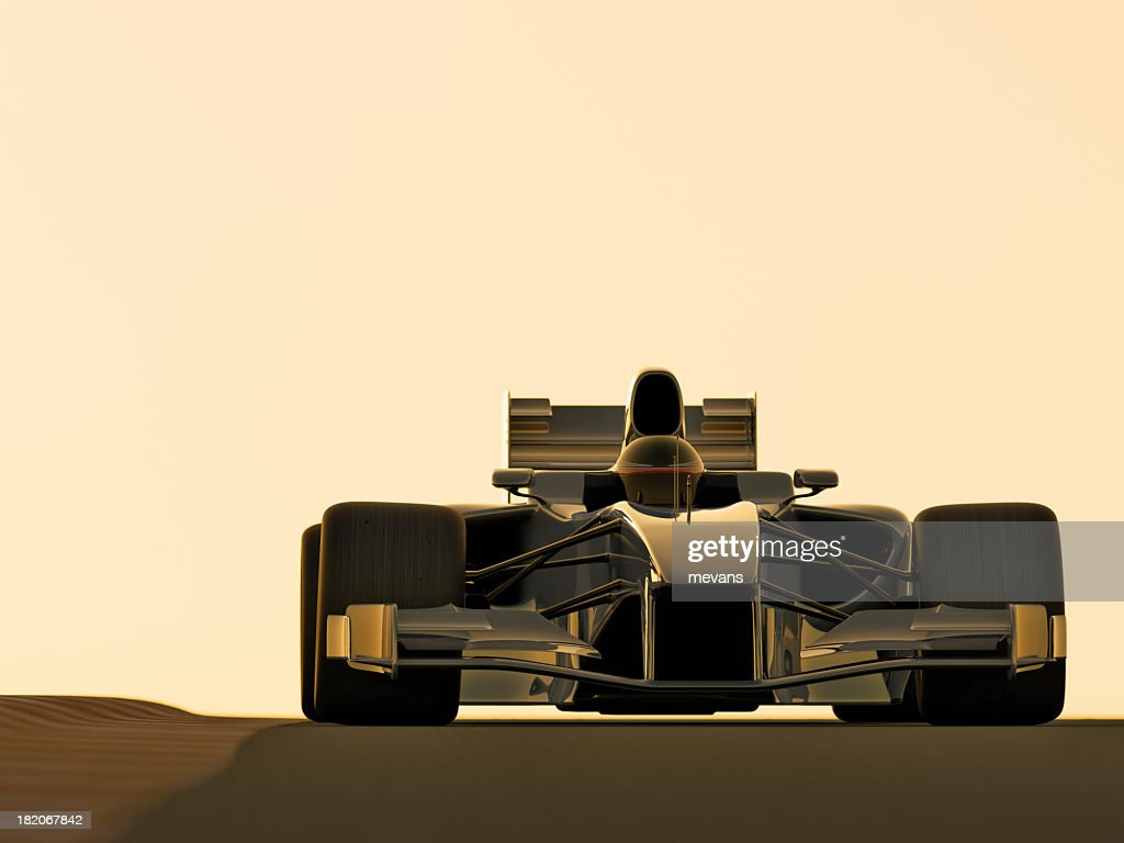 Illustration Of A Model Of A Race Car Stock Photo   Getty Images
