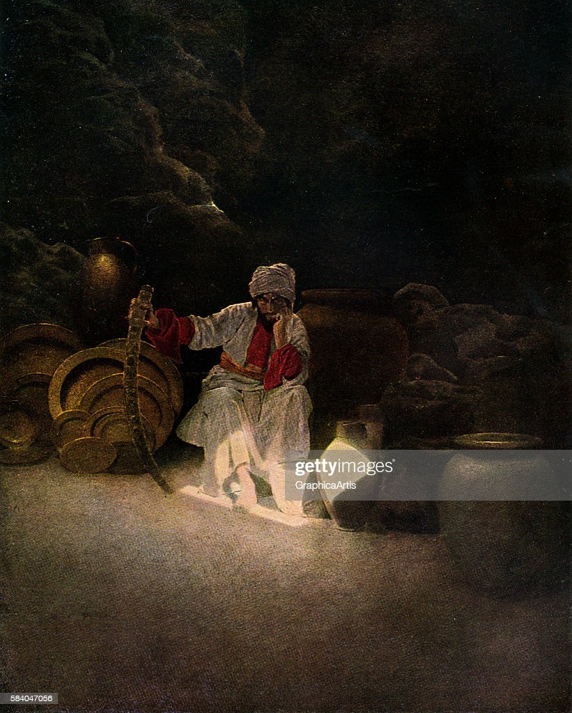 Scene From Ali Baba By Parrish : ニュース写真