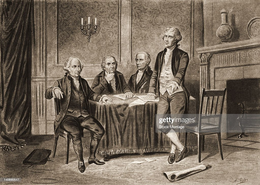 Four Founding Fathers : News Photo
