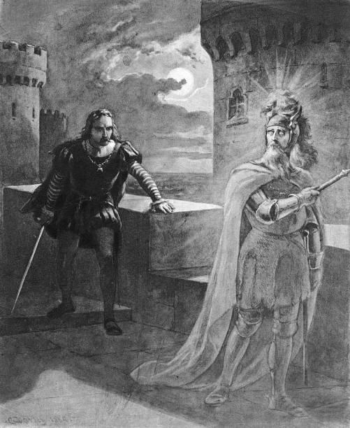Scene From Shakespeare's 'Hamlet' Wall Art