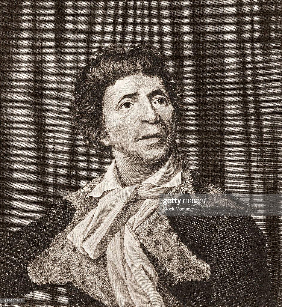 Portrait Of Jean-Paul Marat : News Photo