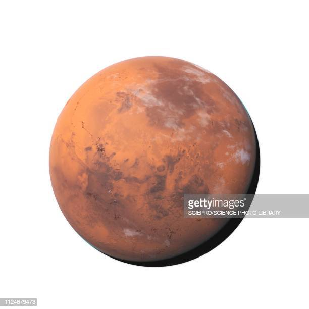 illustration of mars - mars stock pictures, royalty-free photos & images