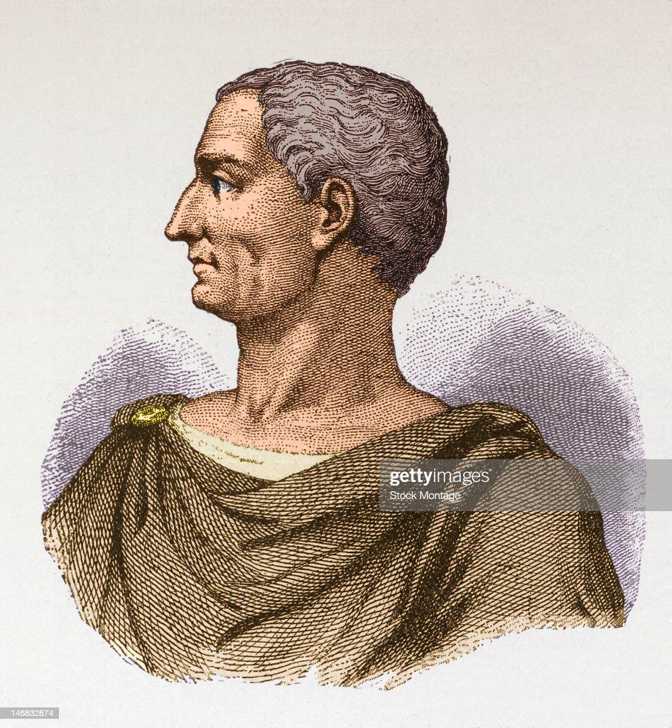 Portrait Of Julius Caesar : ニュース写真